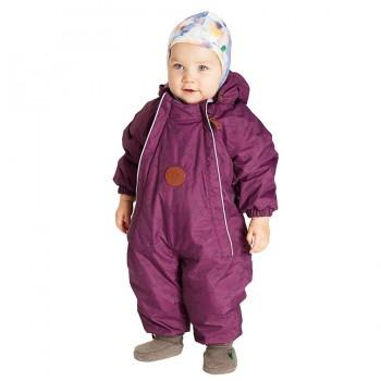 Mädchen Winter Schneeanzug Baby bordeaux