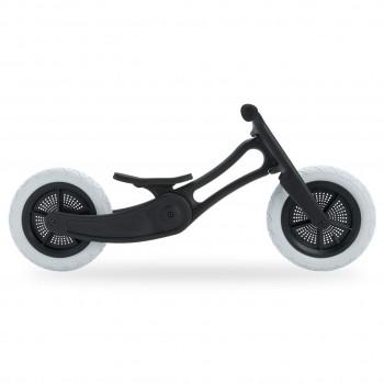 2in1 Laufrad mitwachsend leicht Recycelt ab 18 Monaten black