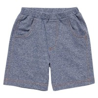 Robust weiche Sweat Short jeansoptik