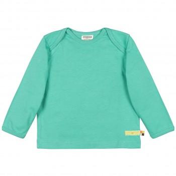Uni Langarmshirt Basic grün
