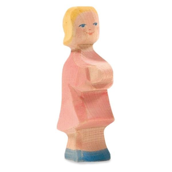 Tochter Holzfigur 8,5 cm hoch