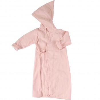 Musselin Beach Wrap - Bademantel rosa