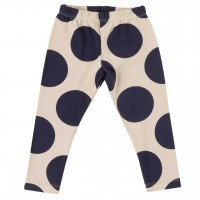 Leggings Kreise in navy-creme
