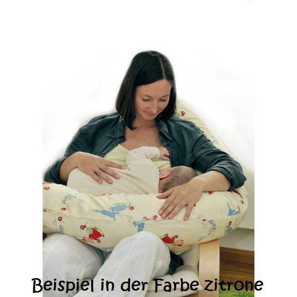 """Bio Stillkissen """"raschelfrei"""" gestreift"""