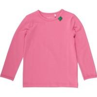 Vorschau: Bio Langarmshirt - tolles dehnbares Basic Shirt - coral