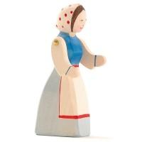 Figur Bäuerin 13,5 cm hoch