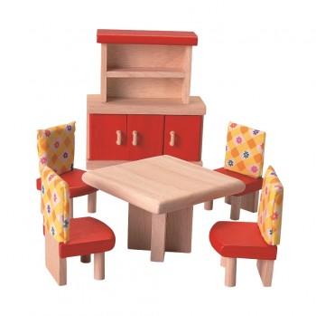 Puppenhaus Möbel Esszimmer Neo