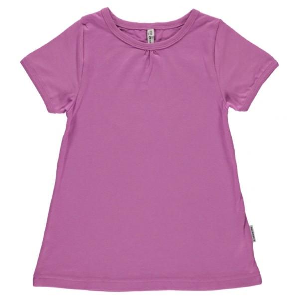 A-Schnitt Mädchen T-Shirt softes lila