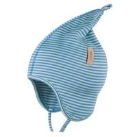 Zipfelmütze dünn kühle Sommertage oder Frühling blau-grün