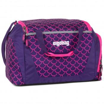 Kinder Sporttasche 20 Liter pink Muster fluoreszierend