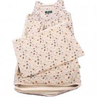 Sommerschlafsack atmungsaktiv & mitwachsend 75-105 cm