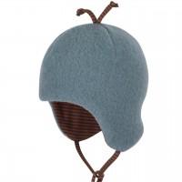 Blaue Baby Wintermütze beliebter Klassiker