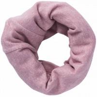 Wolle Seide Schlauchschal rosa