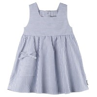 Süsses Sommerkleid blau gestreift