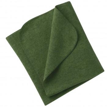 Wolle Babydecke engel schilf-grün