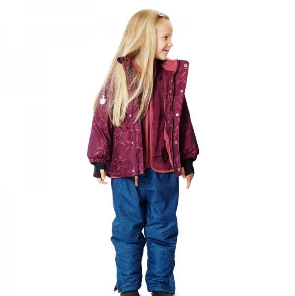Coole Kinder Schneehose schadstofffrei mit Trägern für Jungen und Mädchen von freds world by green c