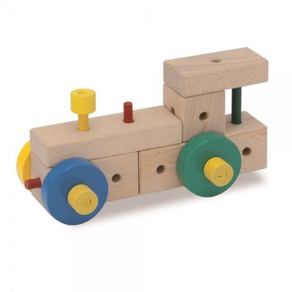 Matador Ki1 Holzspielzeug mit Hammer 70tlg