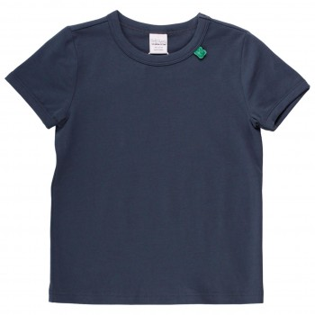 Shirt kurzarm Basic in dunkelblau