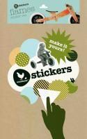 """Vorschau: Sticker """"Flamen"""" für Wishbone Holz Bikes"""