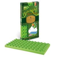 Luckys Naturbausteine Grundplatte grün