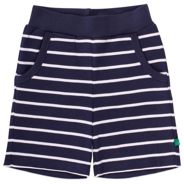 Jungen Shorts gestreift navy-weiß