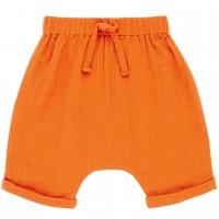 Musselin Shorts luftig in orange