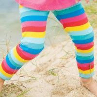 Leggings Regenbogen-Design