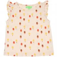 Leichtes Sommer Shirt Schmetterlingsärmel Eis creme