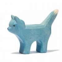 Bremer Katze klein Holzfigur 4 cm hoch