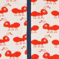 Vorschau: Bio Wendejacke Kapuze doppellagig süsse Ameise