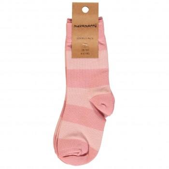 Socken in altrosa Doppelpack