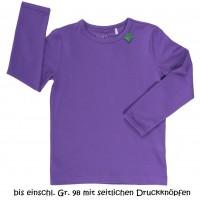 Dehnbares Shirt oder als Unterhemd - lila