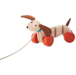 Nachziehspielzeug Hund