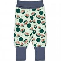 Mitwachsende Krabbelhose Bündchen Wassermelonen