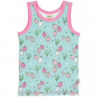 Unterhemd Erdbeeren in mint
