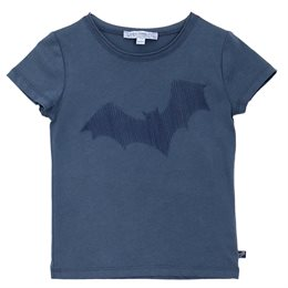 Cooles Jungen Shirt Fledermaus Stickerei