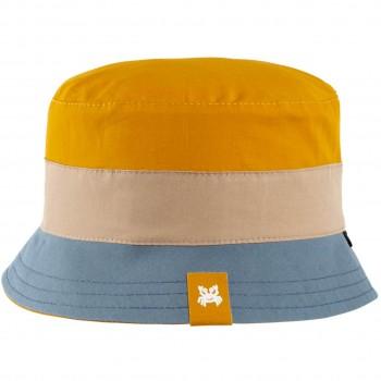 Fischerhut leicht gelb-blau