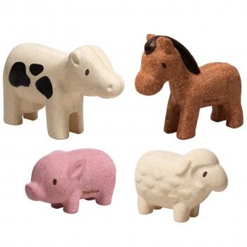 Spielfiguren Bauernhoftiere 4-tlg. ab 12 Monate