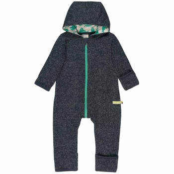 Warmer Strickoverall Robben navy