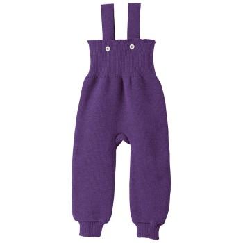 Baby Hose warm hochwertige Wolle lila