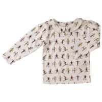 Interlock Shirt mit Kragen und Druckknöpfen am Rücken