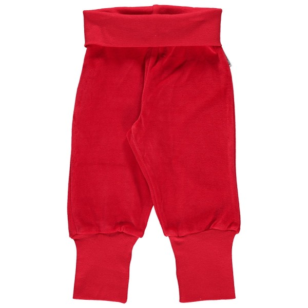 Warme Babyhose Nicki softer Bund rot