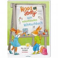 Hops & Holly Mitmachbuch mit Vorschulübungen ab 5 Jahren