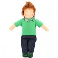 Bio Puppe zum Ankleiden 38 cm - Johann
