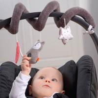 Vorschau: Kikadu Kinderwagenkette Stoffspirale