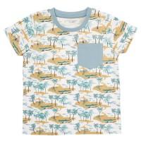 Vorschau: Kinder Shirt Hawaii Flair aus Biobaumwolle