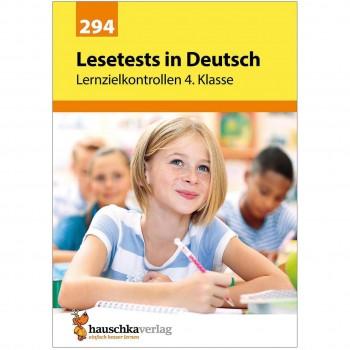 Lesetests in Deutsch – Lernzielkontrollen 4. Klasse