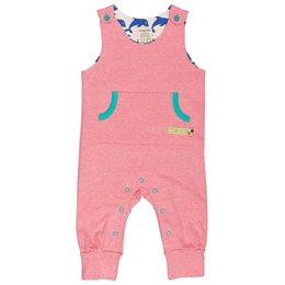 Softer Babystrampler kühle Tage rosa