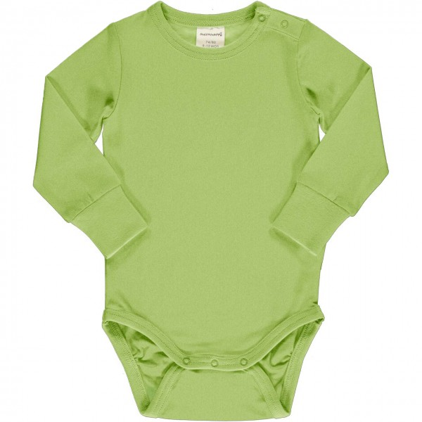 Grüner Body breite Bündchen