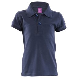 Polo Shirt für Jungen & Mädchen - sportlich - marine
